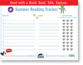 Download and print this summer reading log for kids