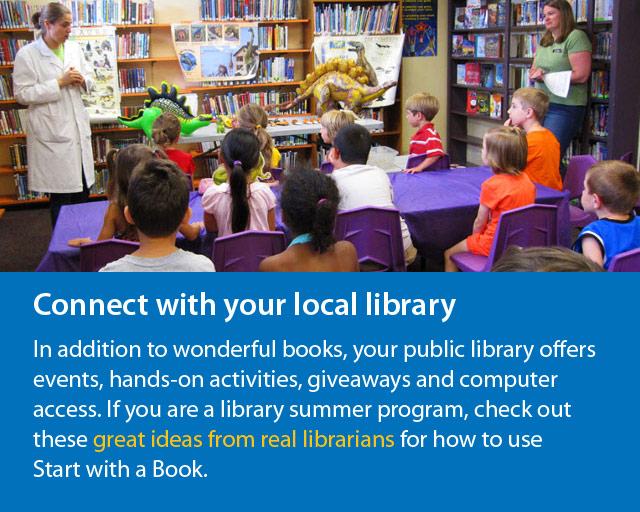 Connect with libraries and librarians