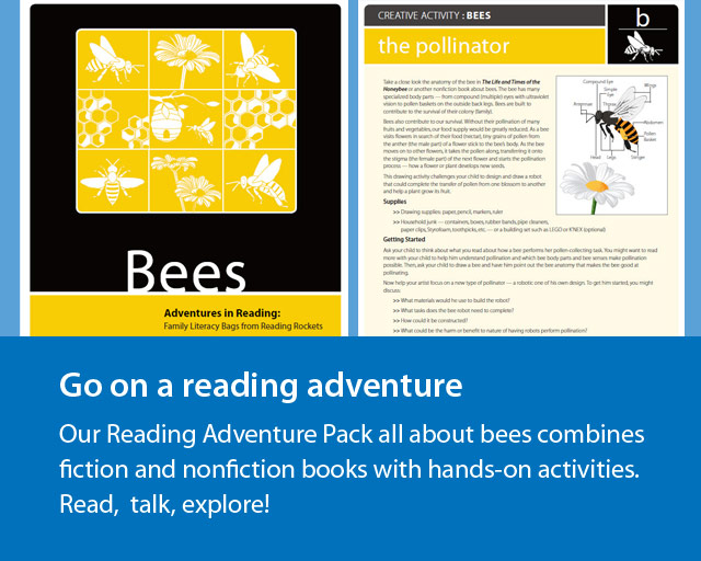 Parents: Our Reading Adventure Pack all about bees
