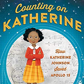 Cover for the children's nonfiction book Counting on Katherine