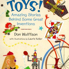 "cover of ""Toys"" showing different kinds of toys"