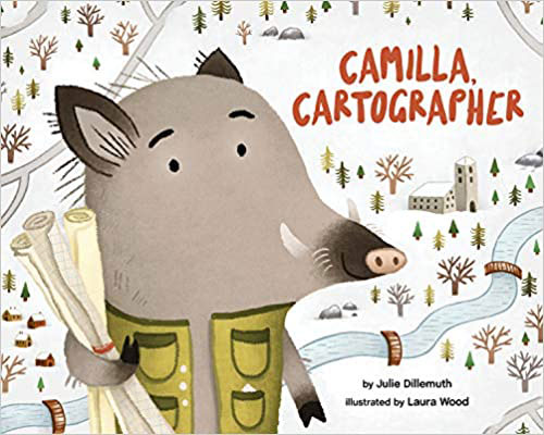 Cover of picture book Camilla Cartographer