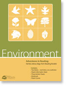 Environment family literacy bag