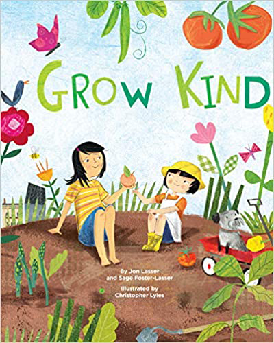 Cover of picture book Grow Kind