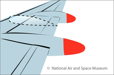 illustration of an airplane wing