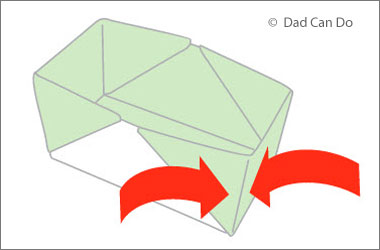 part of the instructions to create an oragami box