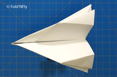 a paper airplane