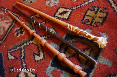 photo of wizard wands