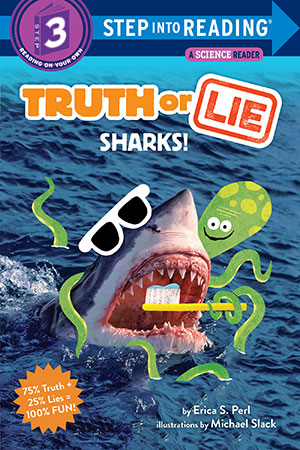 Truth or Lie: Sharks book cover