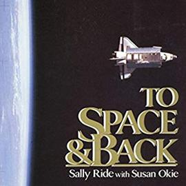 photographic cover of To Space and Back showing a space shuttle and the edge of Earth