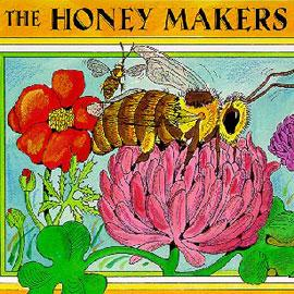 illustrated cover of the Honey Maker showing a bee and flowers