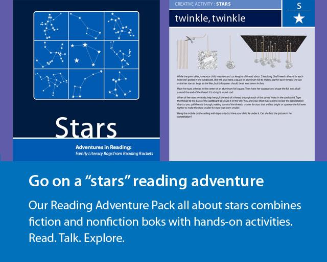 Go on a stars-themed reading adventure