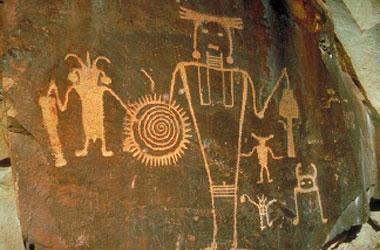 photo of petroglyphs