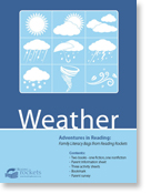 Weather family literacy bag